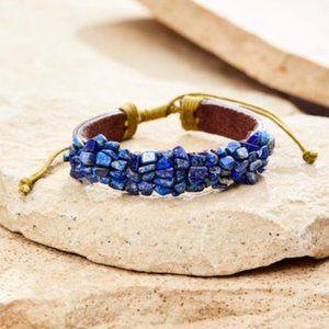 HOST PICK Lapix & Leather Cuff Bracelet
